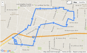Route of Coffeeneuring No 1