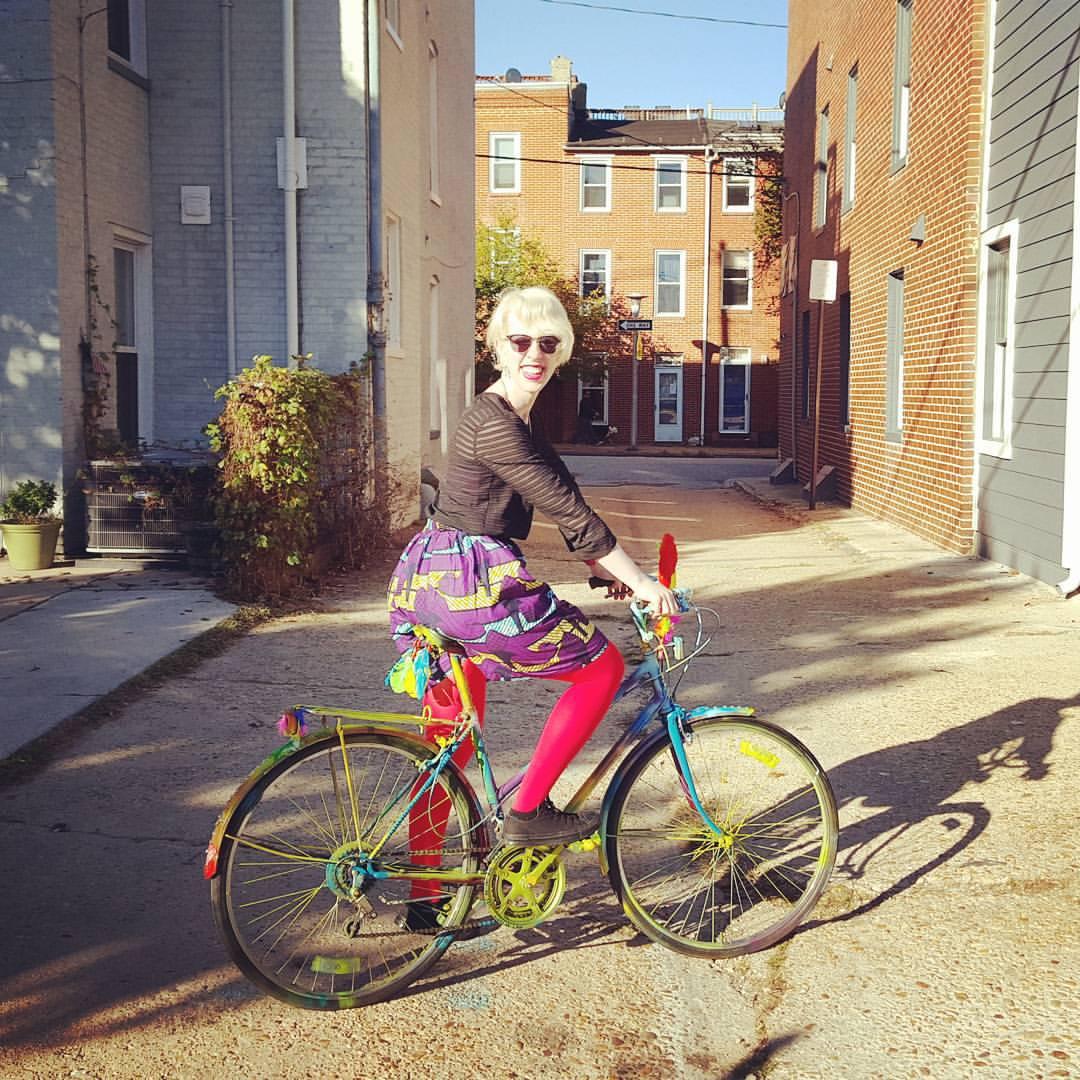Art Bike in Baltimore
