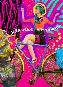 bike girl bloomers