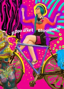 bike girl bloomers
