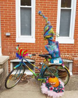 Happy Halloween from Art Bike
